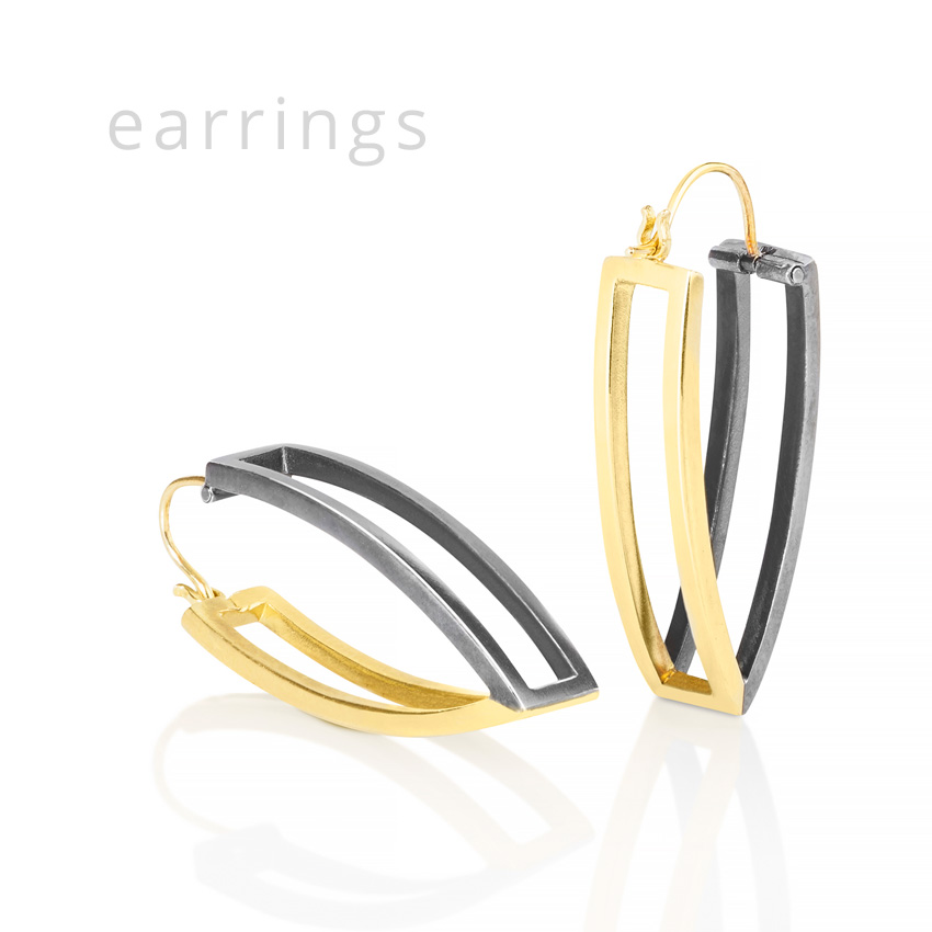 Michele Mercaldo contemporary earrings Boston