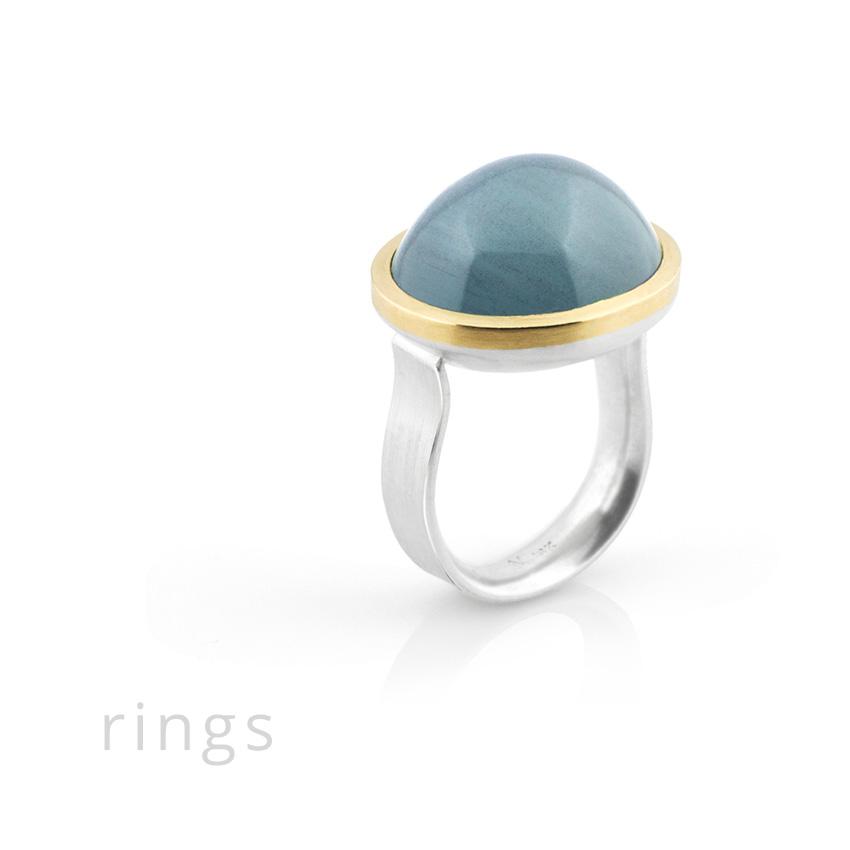 Michele Mercaldo contemporary rings