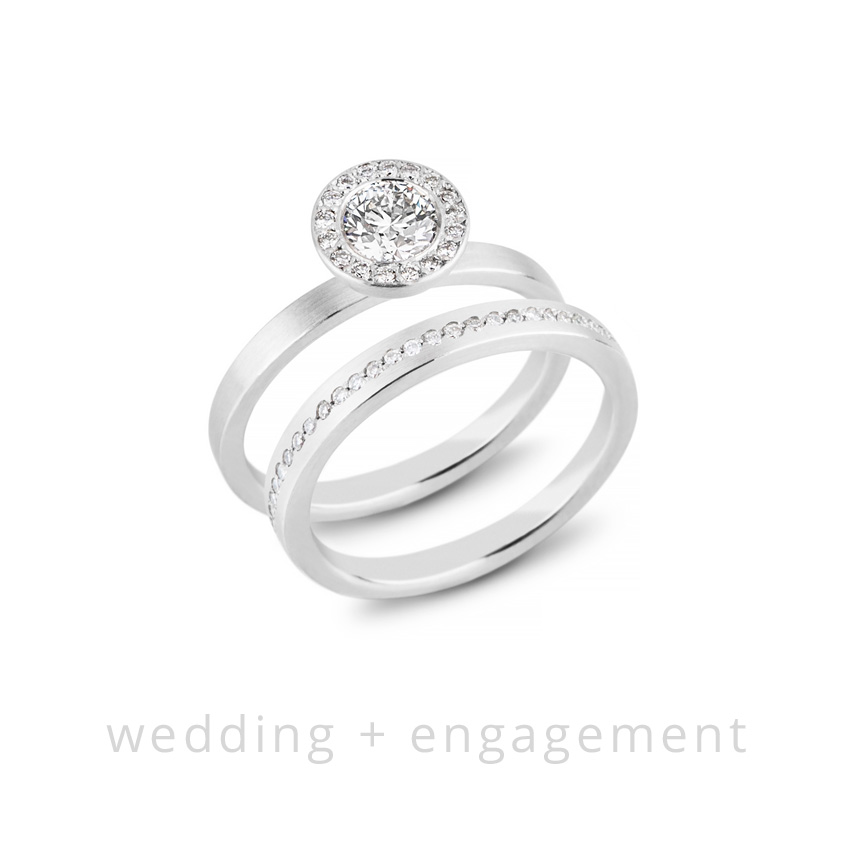 Michele Mercaldo wedding & engagement rings