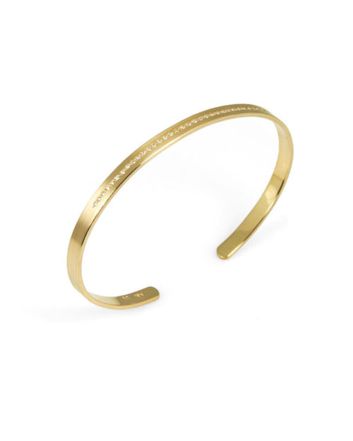 Diamond Cuff Bracelet, 18k gold