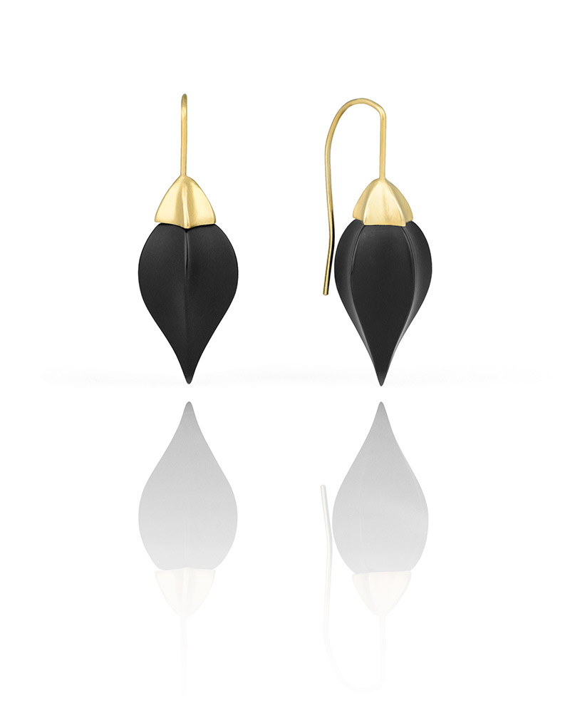 onyx shop studs jewellery lumina black stud earrings