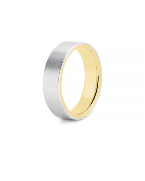 Platinum 18k Gold Band Wedding Band